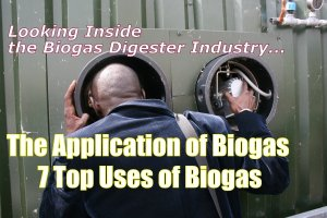 Feature Image for the Application of Biogas article.