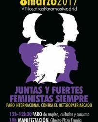 #NosotrasParamos contra el sistema machista