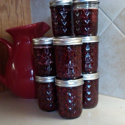 Triple Berry Preserves – My first attempt at canning fruit