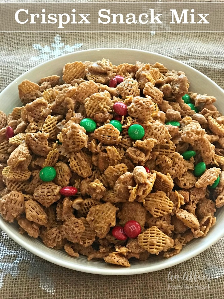 Crispix Snack Mix