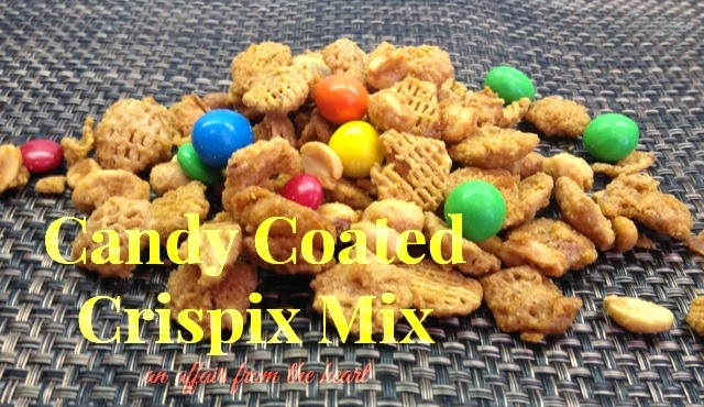 Candy Coated Crispix Snack Mix ---- Plus a Fun way to ...
