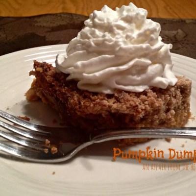 Pumpkin Dump Cake