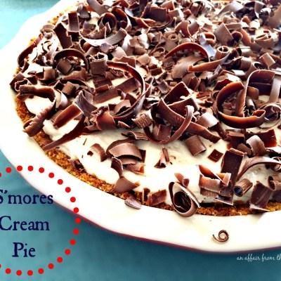 S'mores Cream Pie