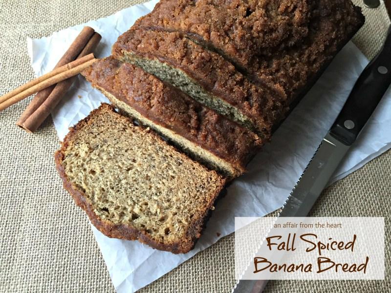 Fall Spiced Banana Bread