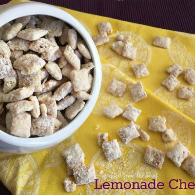 Lemonade Chex Mix ~ Party Style Blog Tour