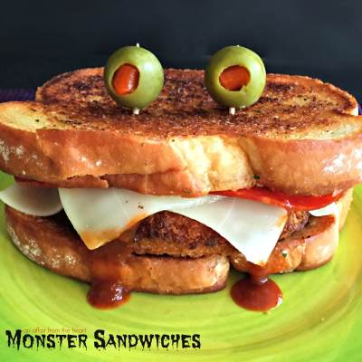 Pizza Monster Sandwiches