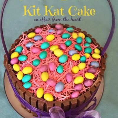 Easter Basket Kit Kat Cake