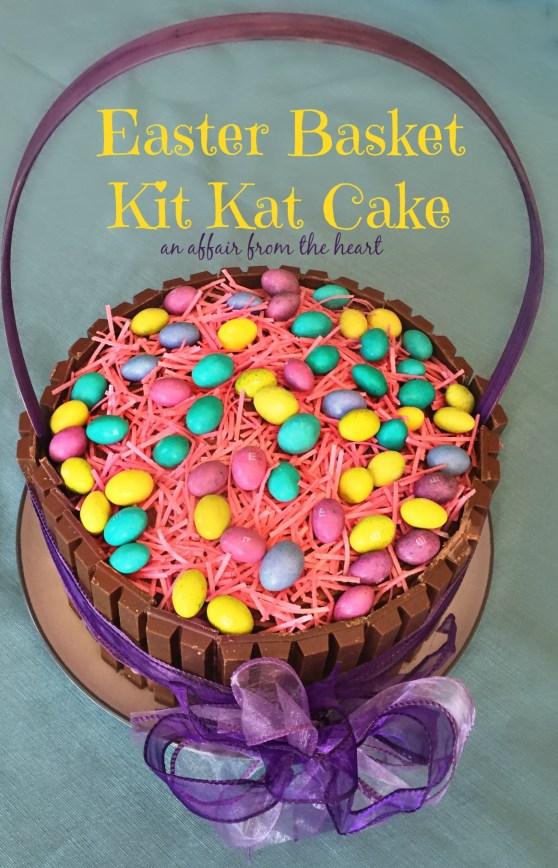 Easter basket kit kat cake negle Image collections