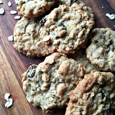 Grandma Jane's Oatmeal Raisin Cookies