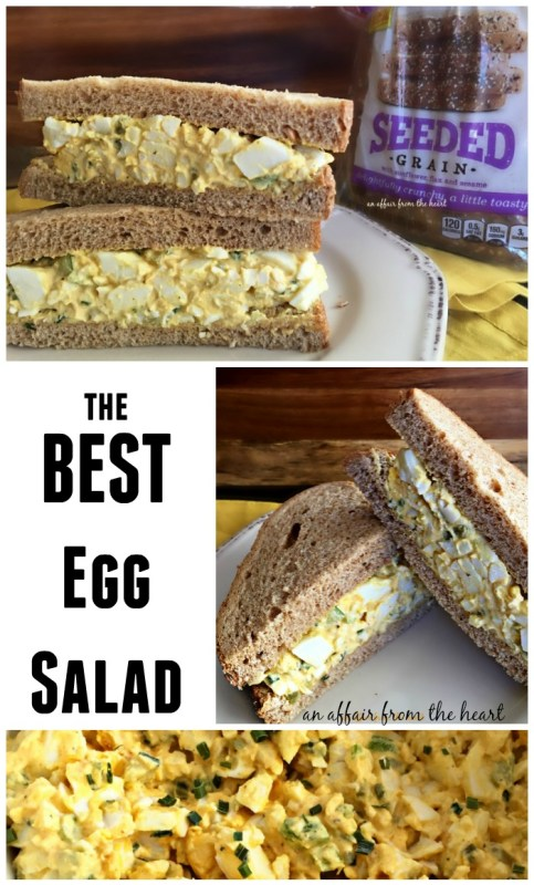 The BEST Egg Salad - An Affair from the Heart