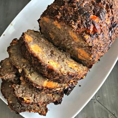 Mom's Pork Sausage Meatloaf