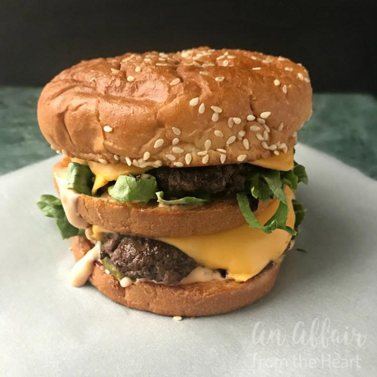 Copycat Mcdonald S Big Mac An Affair From The Heart