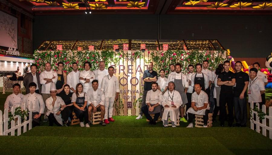 TGFF 2018 Chefs Group Photo