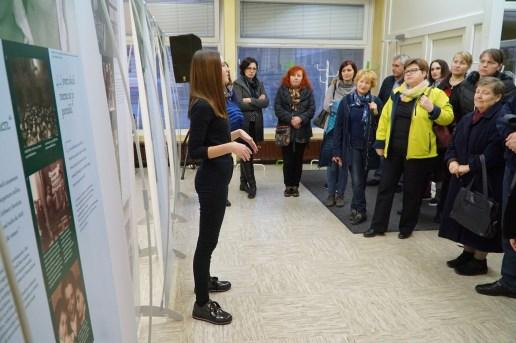 Odprtje razstave na OŠ Gorica Velenje