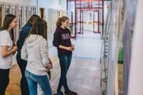 Izobraževanje in odprtje razstave na OŠ Naklo