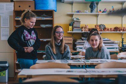 Izobraževanje na OŠ Savsko naselje v Ljubljani