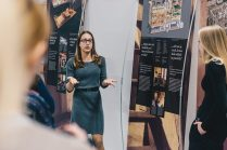 Odprtje razstave na OŠ Savsko naselje v Ljubljani