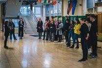 Odprtje razstave na OŠ Staneta Žagarja Kranj