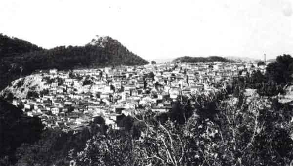 Μερική άποψη της Αγιάσου. Στο βάθος το Καστέλι. (Φωτογραφία Γιάννη Χατζηβασιλείου)