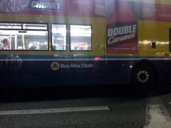 Bus in Dublin