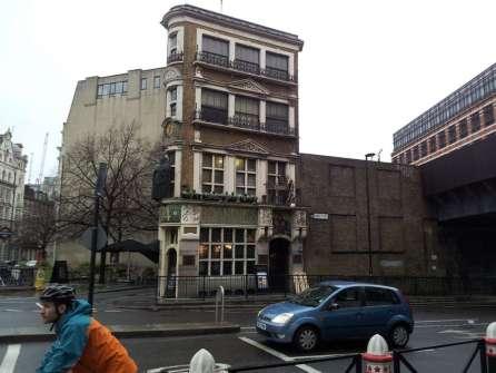 Strange house in London
