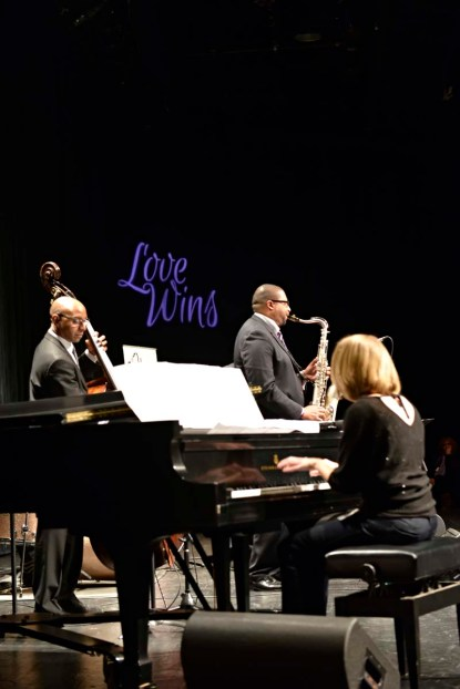 Jimmy Greene and Friends; Jimmy on the sax, Jennifer Alllen, piano, Nate Reeves, bass