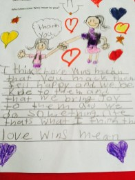 Child's Thank You Note