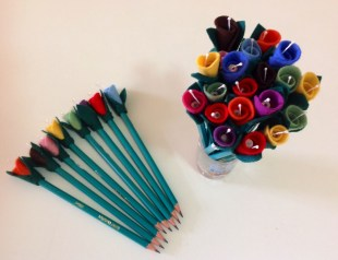 Lápis flor!