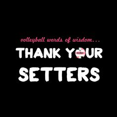 Thank You Setters