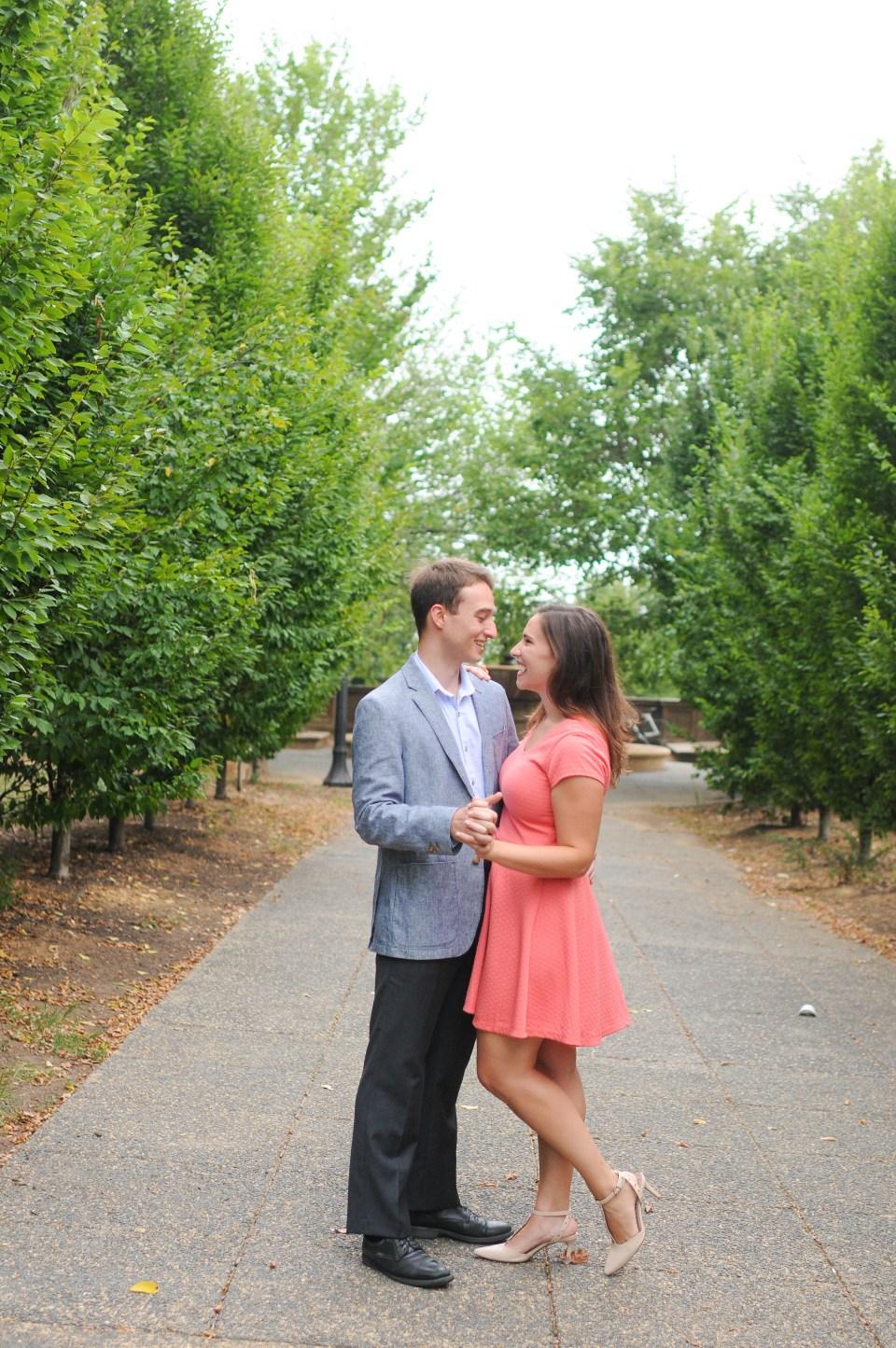 Washington, DC Engagement at Meridian Hill Park (146)
