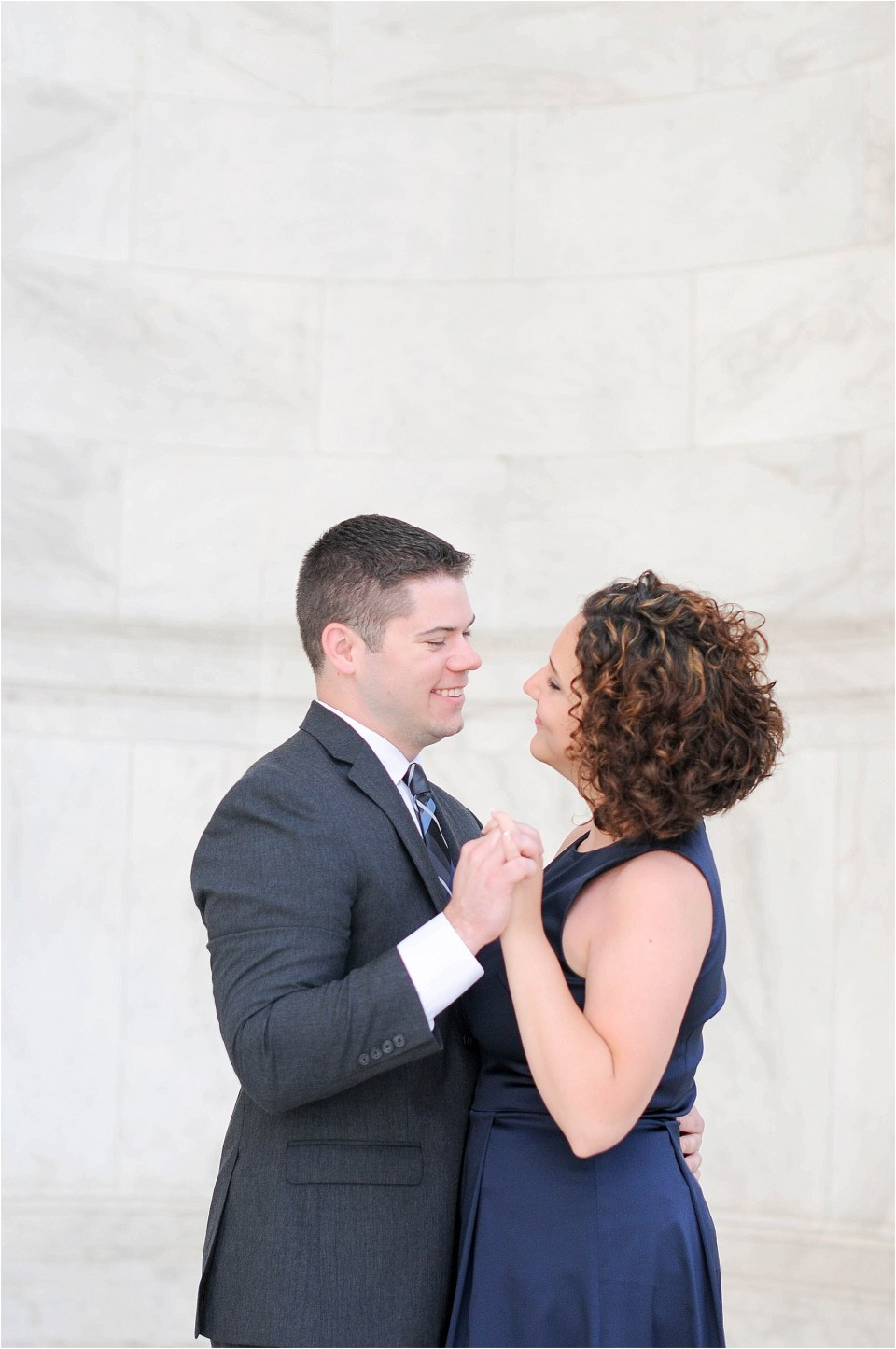 Classic Washington DC engagement session at the Jefferson Memorial28