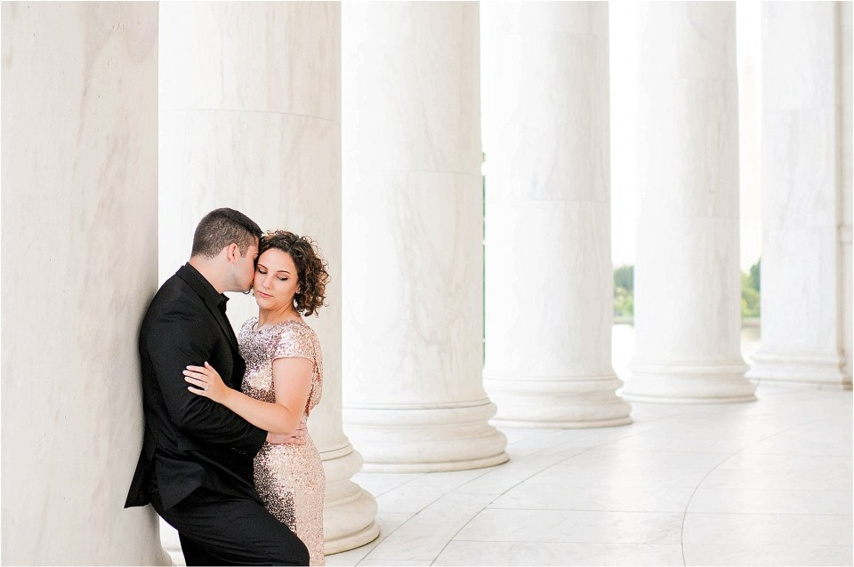 Classic Washington DC engagement session at the Jefferson Memorial41