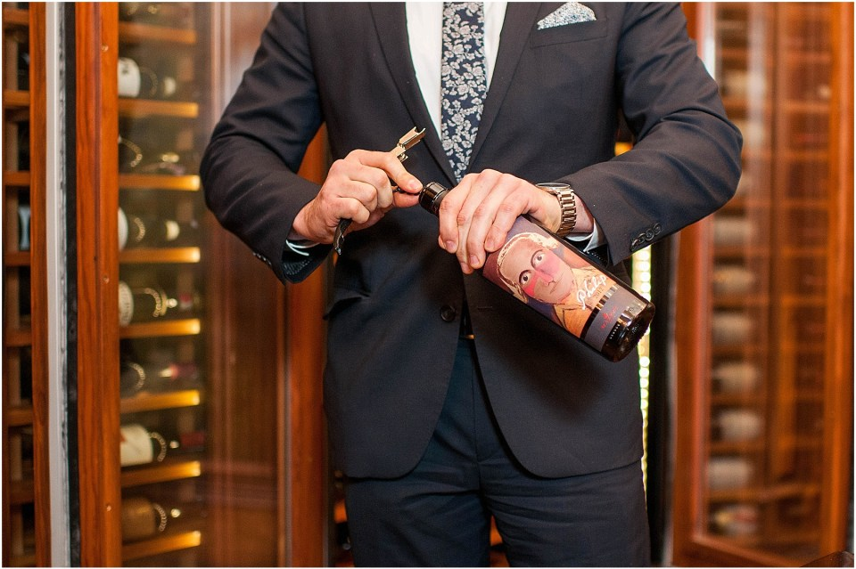 Sommelier and Wine Director David Metz at Michelin Star restaurant Plume in a luxury hotel The Jefferson Hotel 4