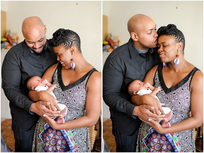 At home family portrait with newborn | Ana Isabel Photography | Washington DC photographer 4