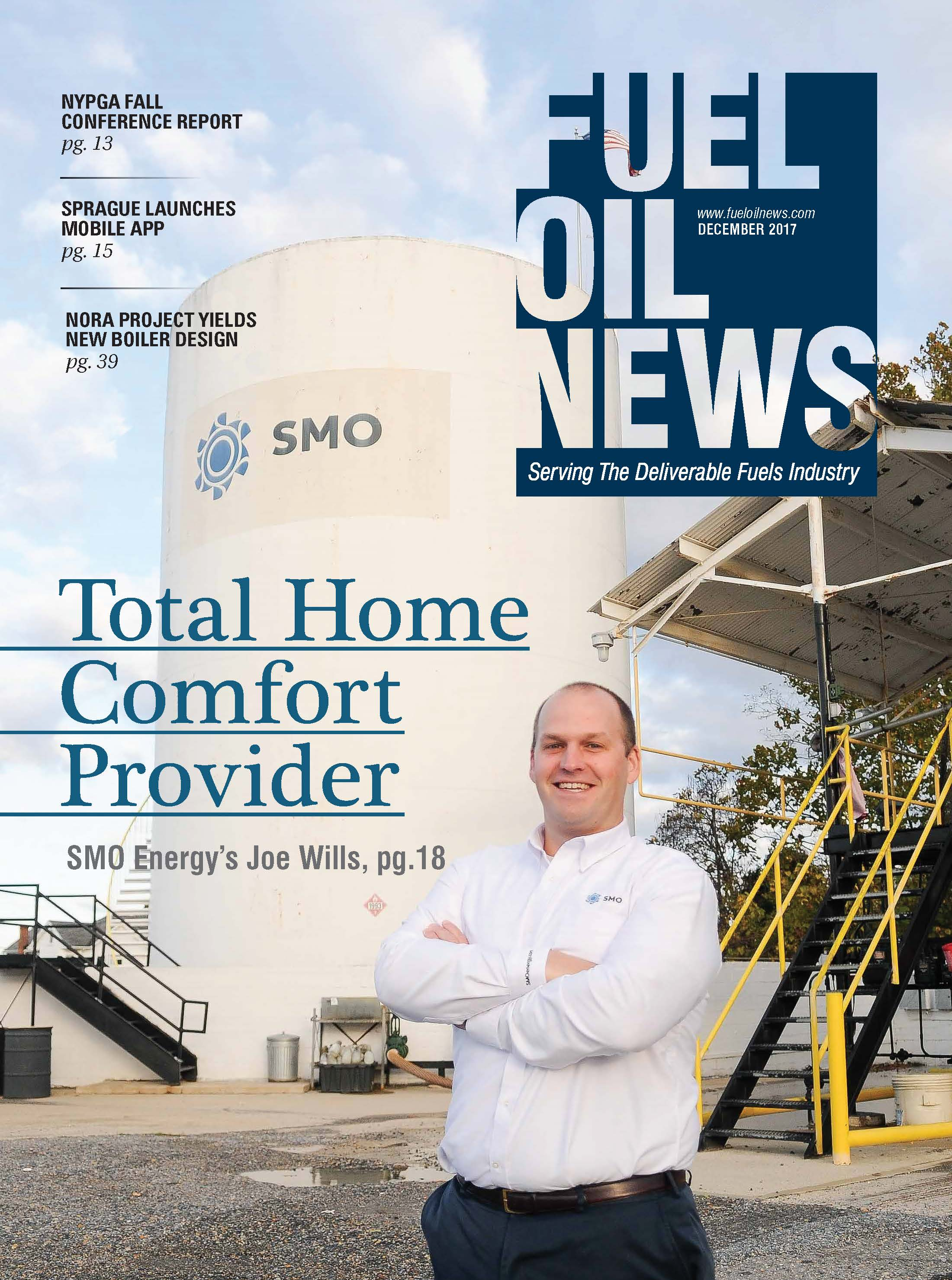 Joe Wills, CEO of SMO Energy featured on Fuel Oil News by Ana Isabel Photography
