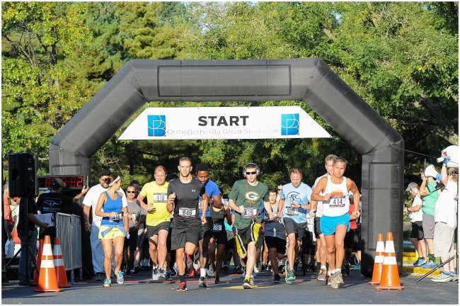 OrthoBethesda's Great Strides 5k | Washington, DC & San