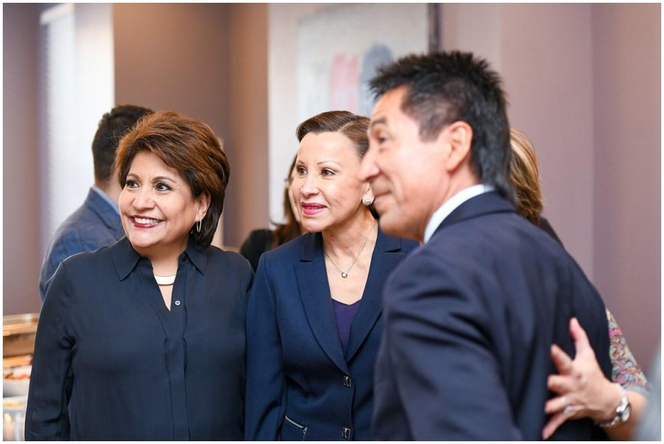 Janet Murguia from UnidosUS and Congresswoman Nydia Velazquez
