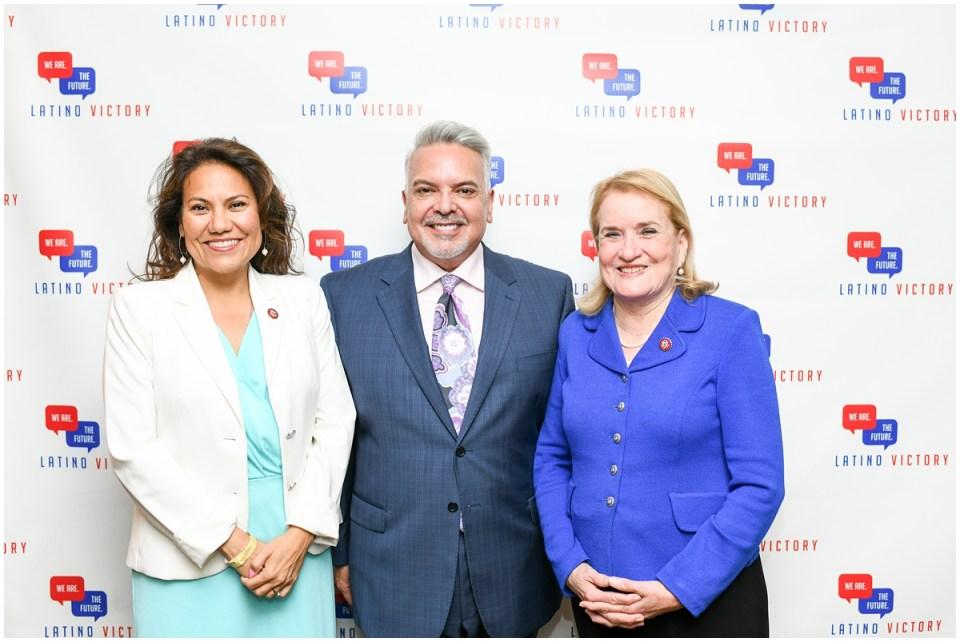 Congresswoman Veronica Escobar, Congresswoman Sylvia Garcia, Henry Munos