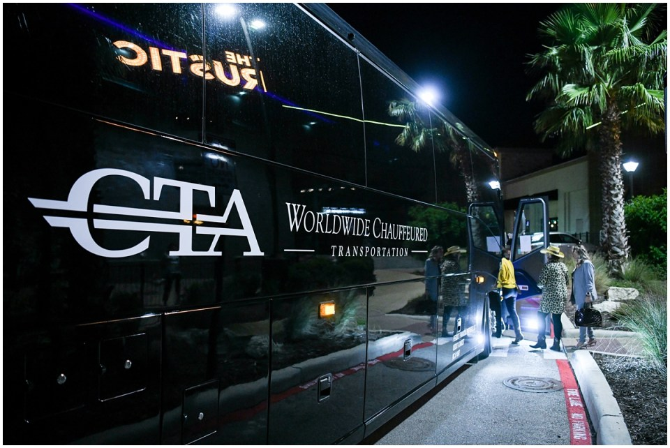 CTA Worldwide Chauffeured Transportation at The Rustic in San Antonio