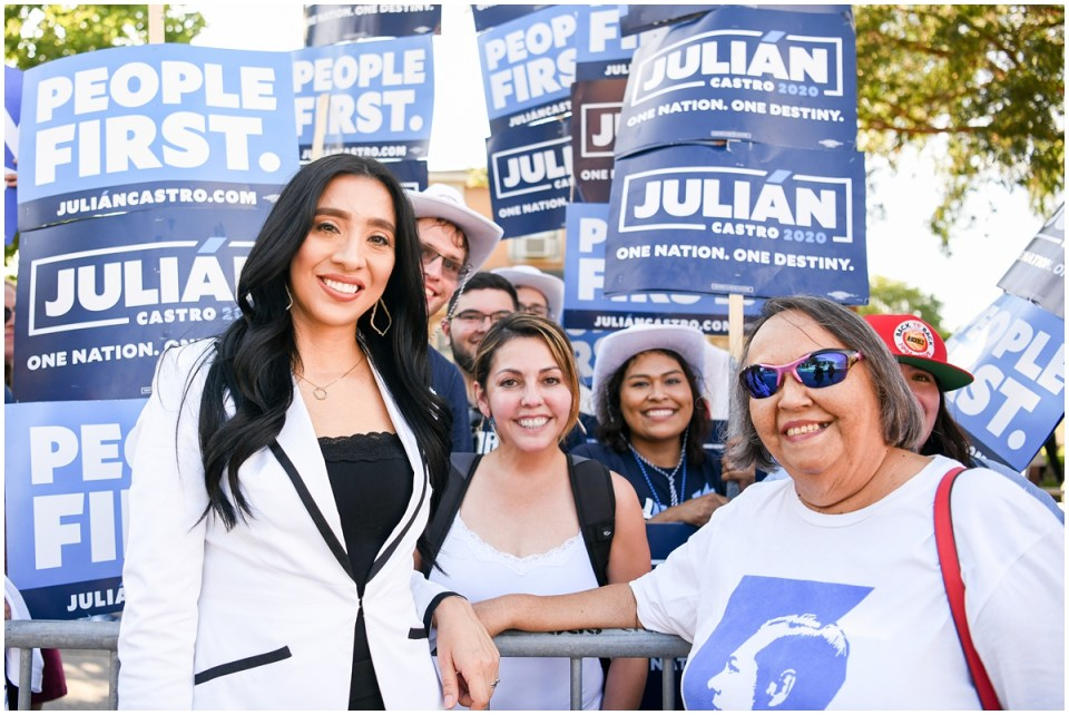 Julian Castro presidential campaign photographer Ana Isabel Martinez Chamorro