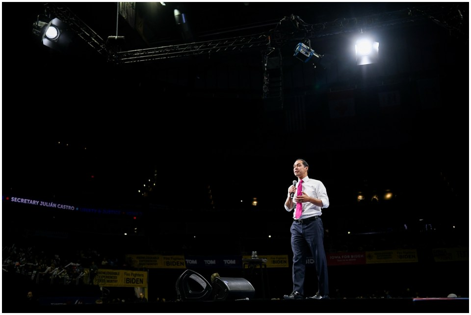 Julian Castro presidential campaign photographer