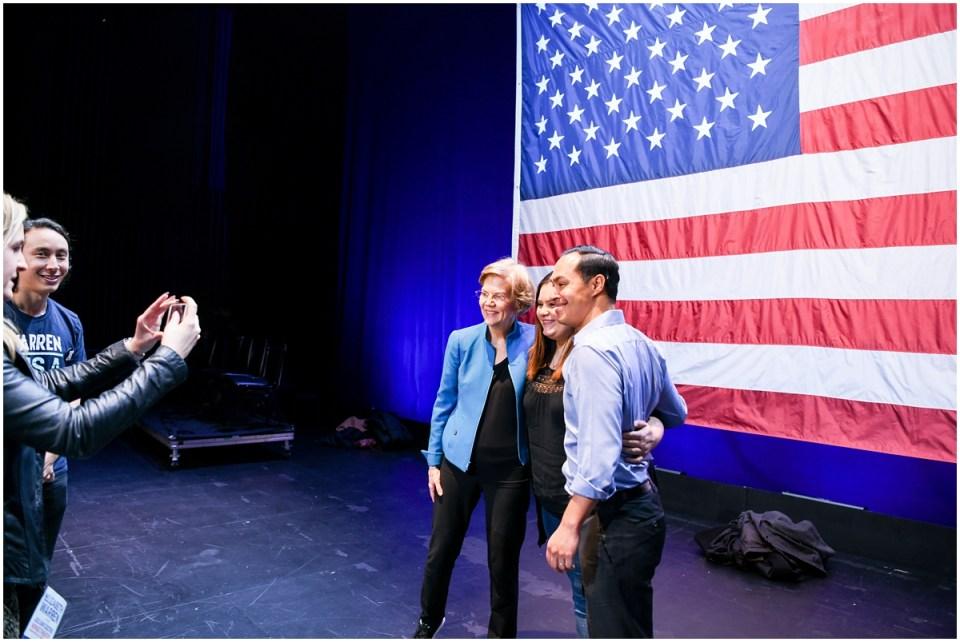 Warren's campaign photographer