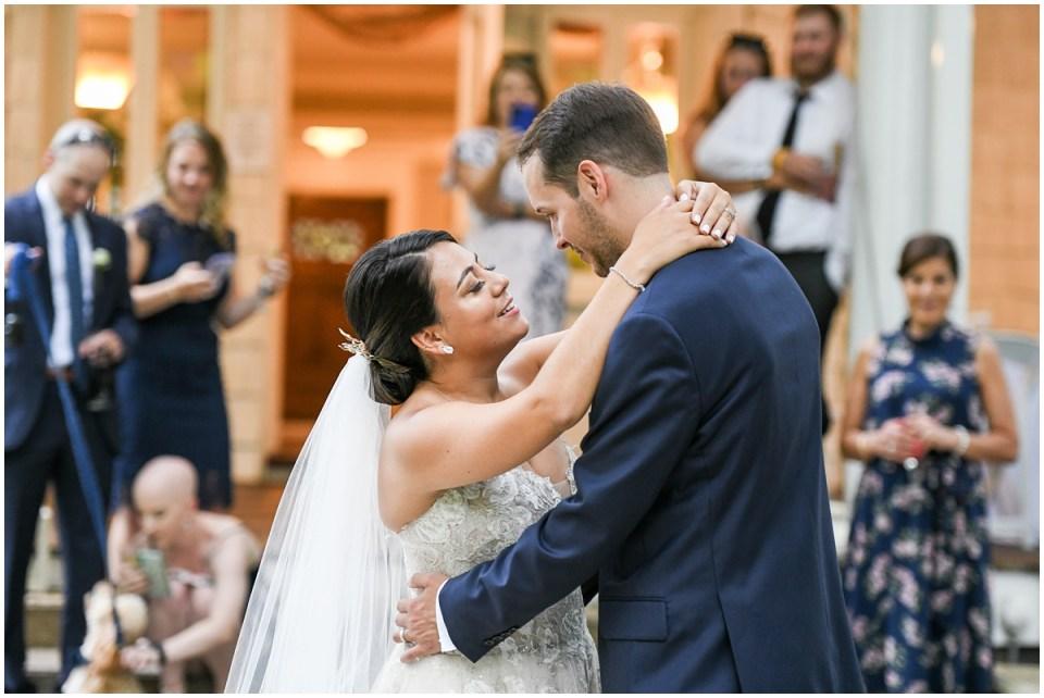 Intimate elopement weddings