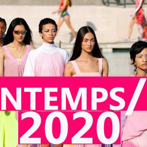 Les tendances printemps/été 2020