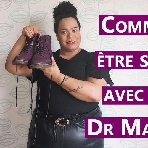 MODE GRANDE TAILLE Mon : LookBook pour être stylée en Dr Martens