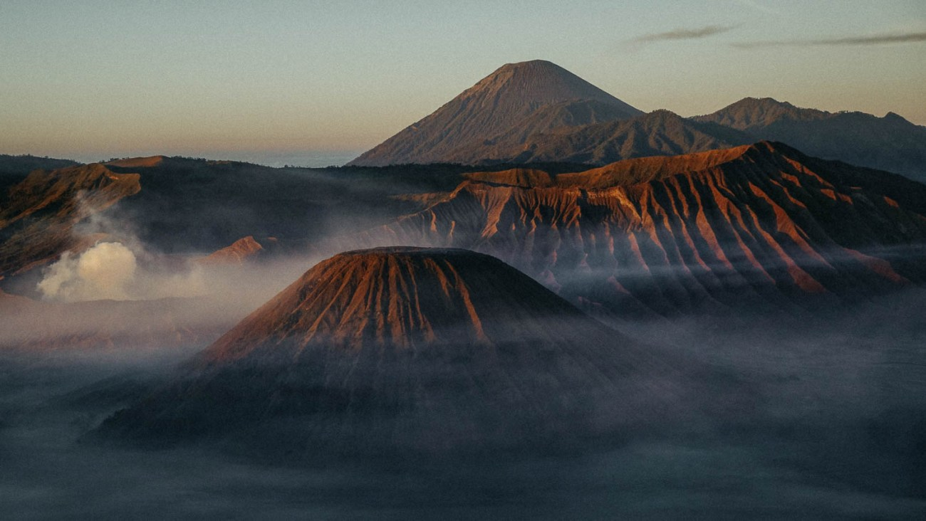 Bromo sunrise Java Indonesia