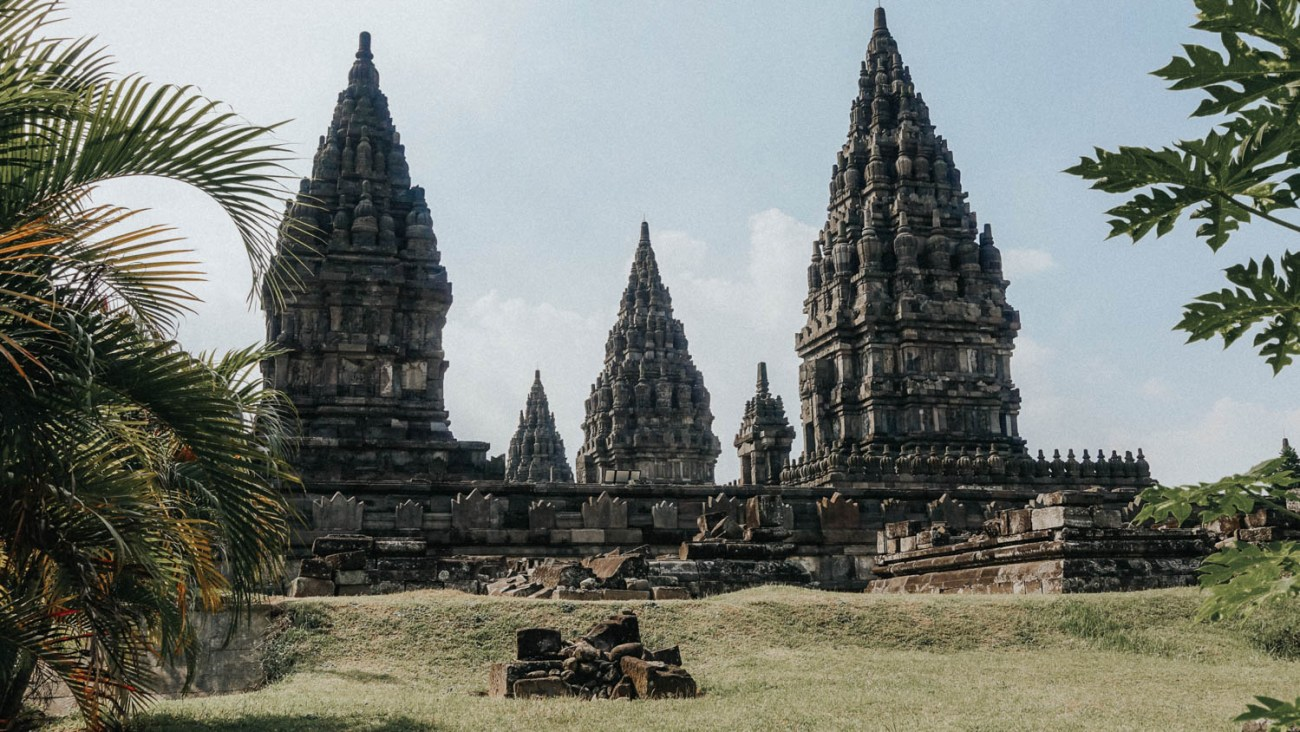 Temples Java Indonesia
