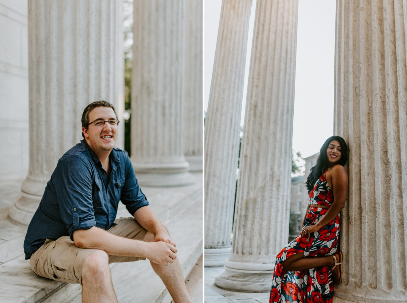Princeton University Engagement Session Photos, New Jersey Wedding Photographer, Anais Possamai Photography