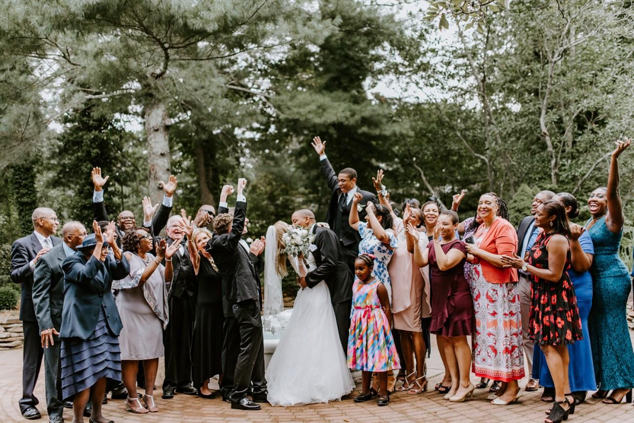 Sayen House and Gardens Wedding Reception Room. New Jersey Wedding Photographer Anais Possamai Photography