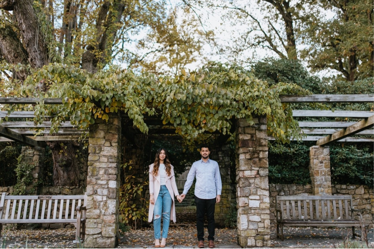 Cross Estate Gardens Couple Session, Best New Jersey location for engagement photos, Anais Possamai Photography